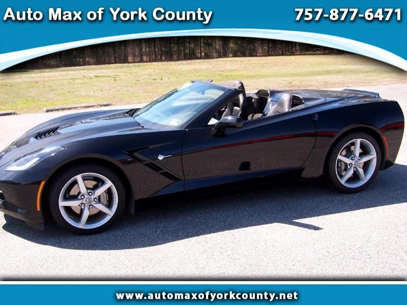 2014 Chevrolet Corvette Stingray 1LT Convertible