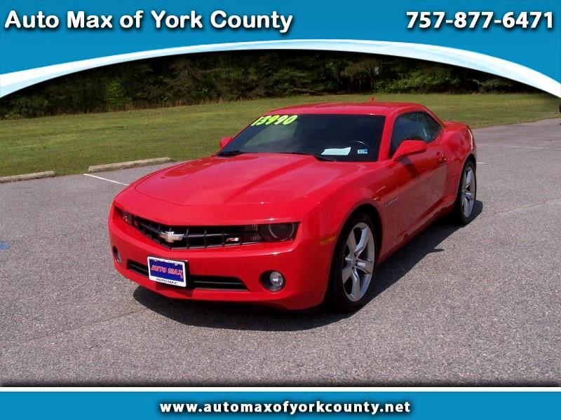 2012 Chevrolet Camaro 2dr Coupe RS