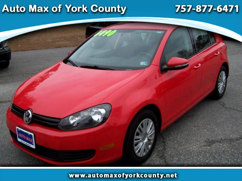 Volkswagen Golf 2.5L Conv & Sunroof 4 Door PZEV 2013