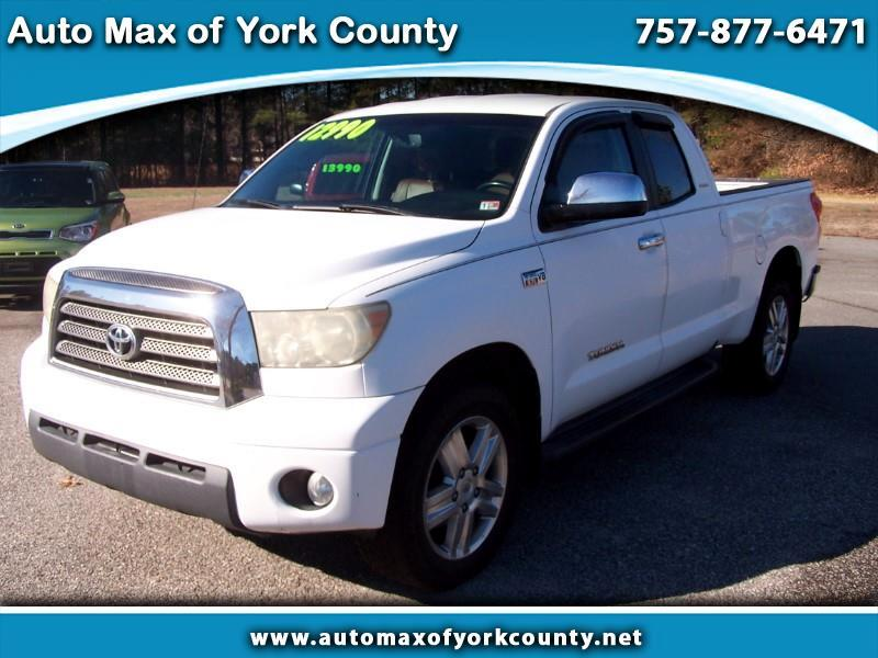 Toyota Tundra Limited Double Cab 5.7L 4WD 2007