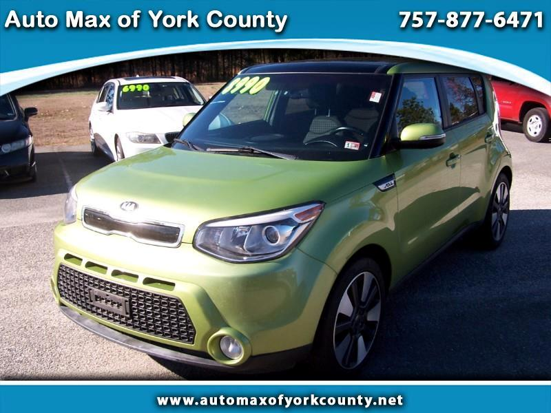 Kia Soul + w/Primo Package 2015