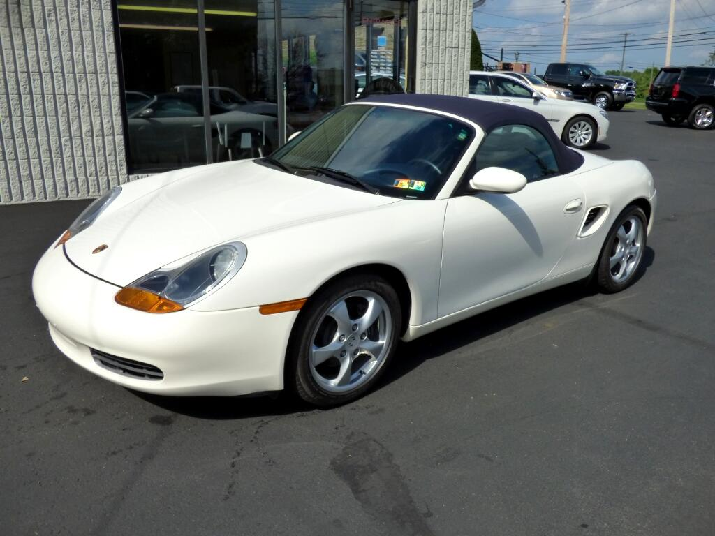 2001 Porsche Boxster 2dr Roadster 5-Spd Manual
