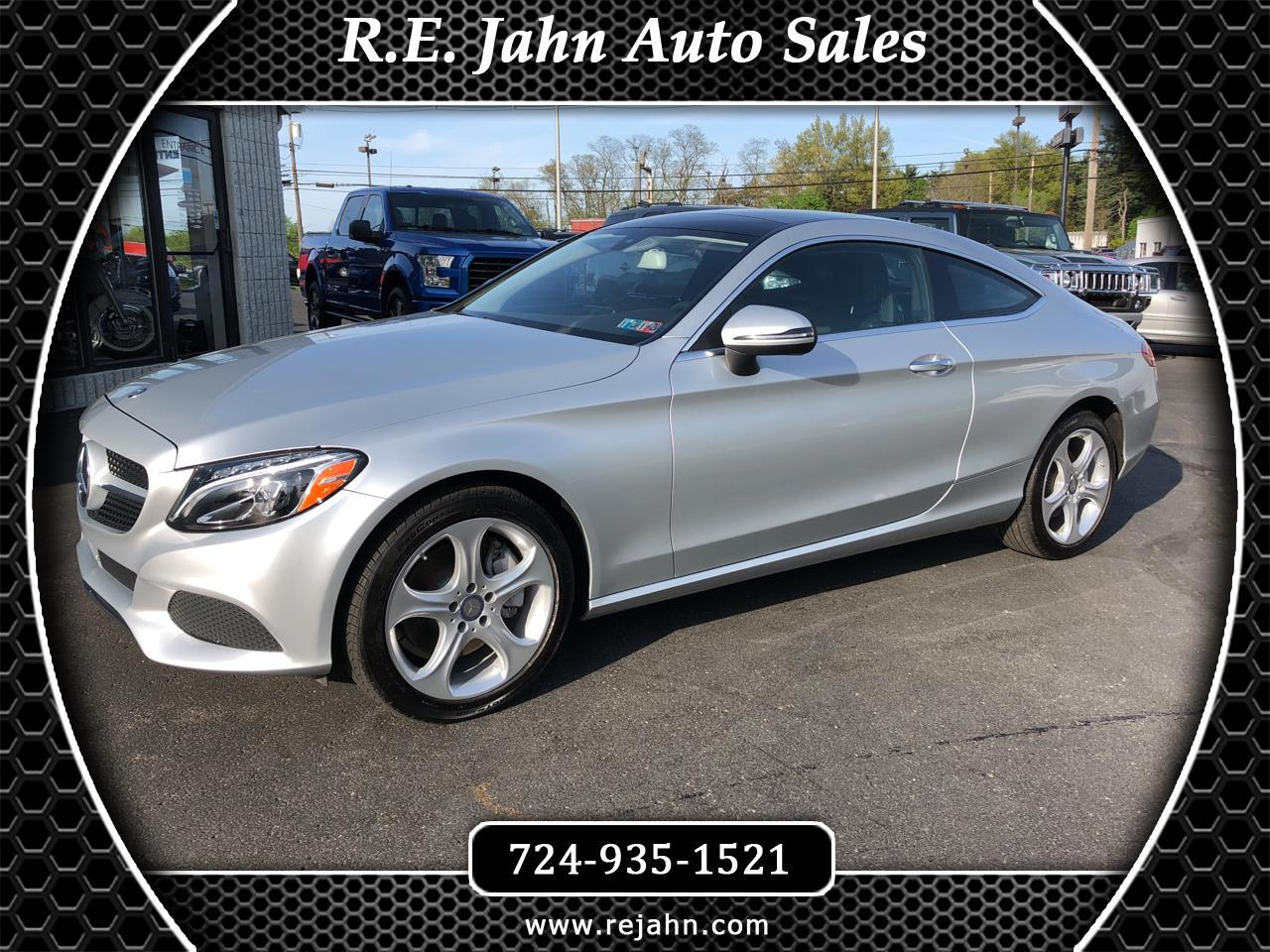 2017 Mercedes-Benz C-Class C 300 4MATIC Coupe