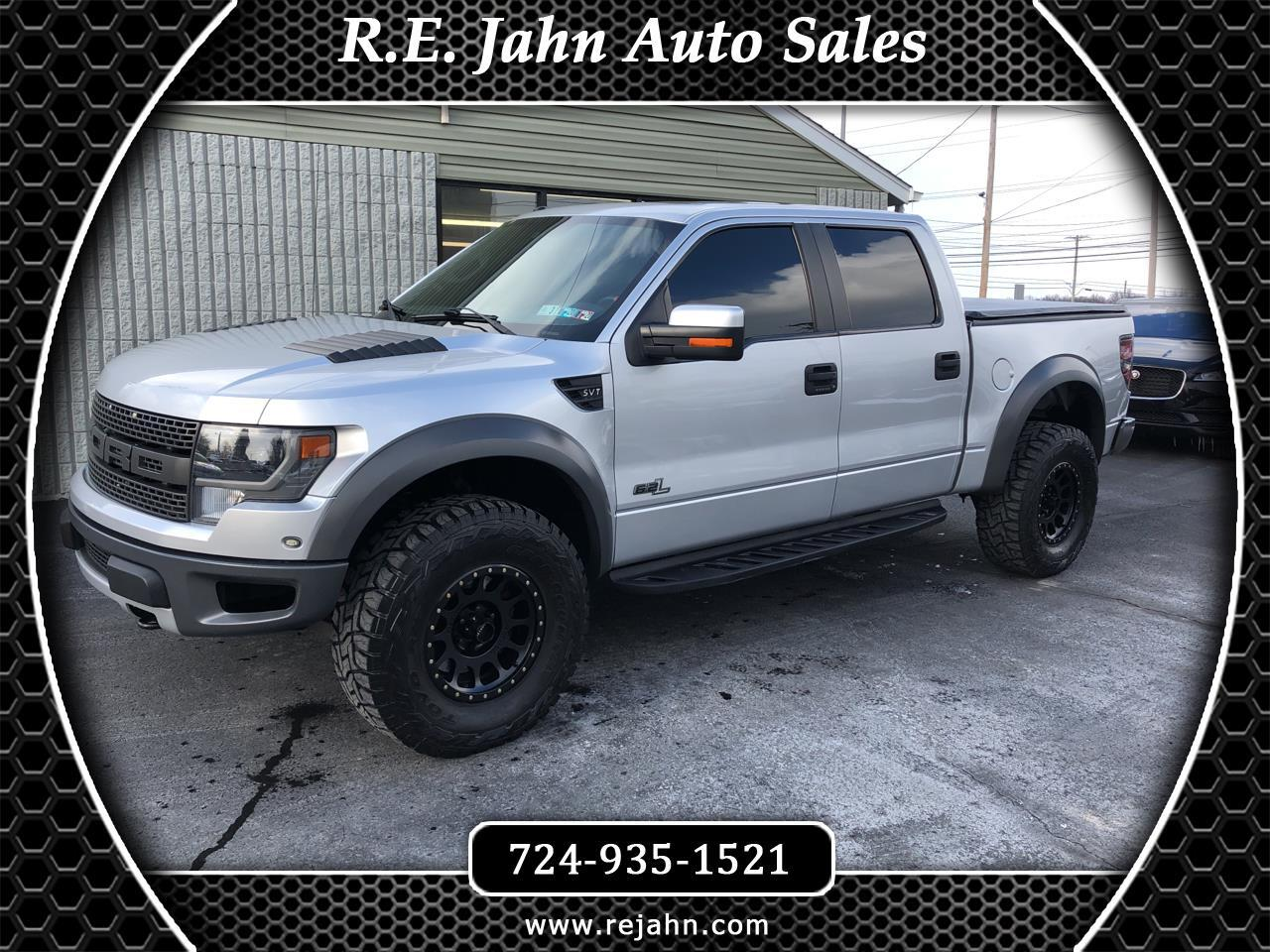 2014 Ford F-150 Raptor 4WD SuperCrew 5.5' Box