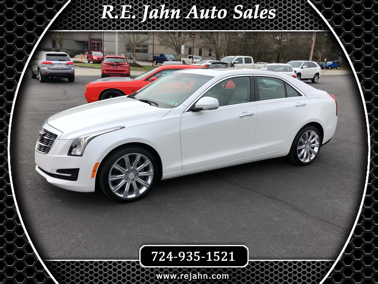 2017 Cadillac ATS Sedan 4dr Sdn 2.0L Luxury AWD