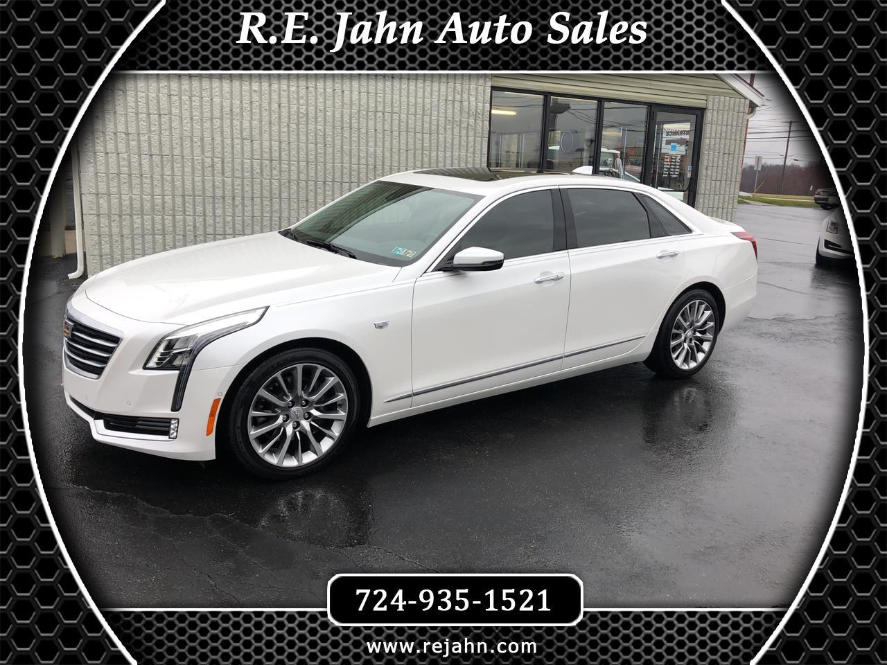 2018 Cadillac CT6 4dr Sdn 3.6L Luxury AWD