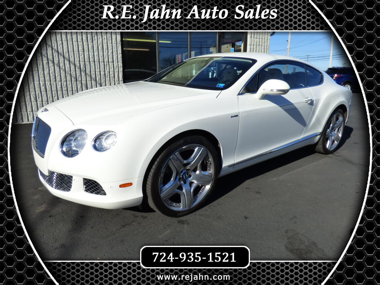 2012 Bentley Continental GT 2dr Cpe