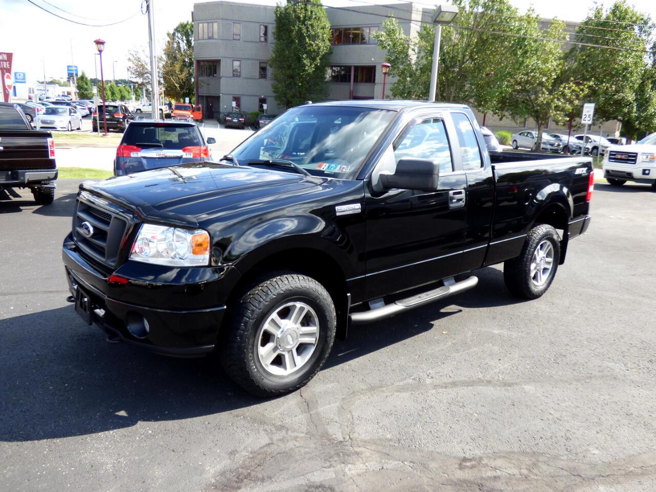 """2008 Ford F-150 4WD Reg Cab 126"""" XLT"""