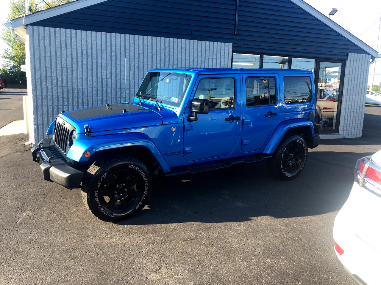 2014 Jeep Wrangler Unlimited 4WD 4dr Altitude