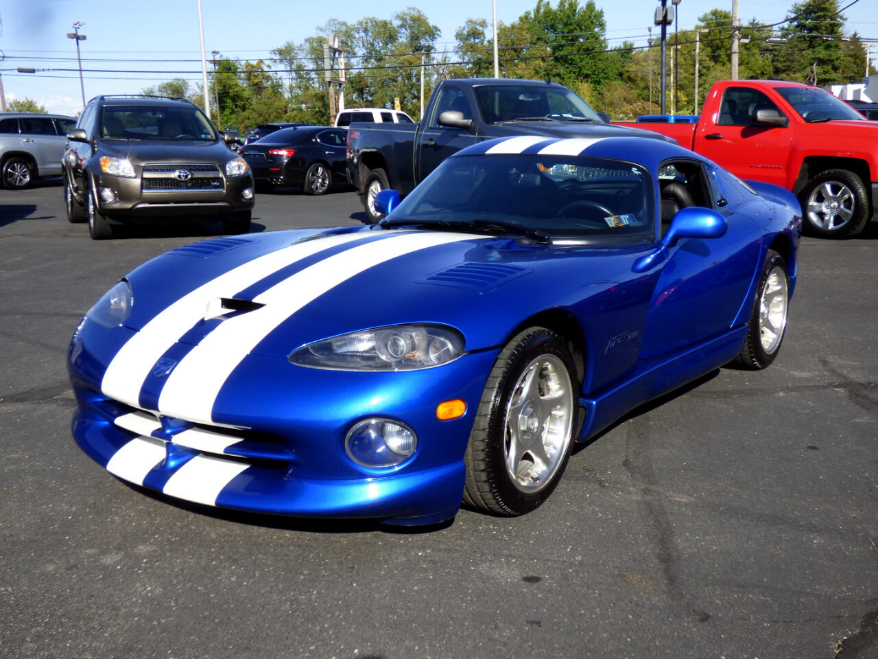 1996 Dodge Viper 2dr GTS Coupe