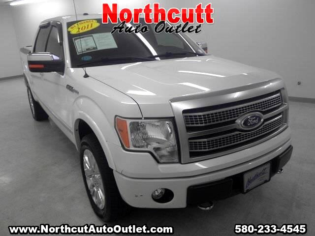 2011 Ford F-150 Platinum SuperCrew 6.5-ft. Bed 4WD
