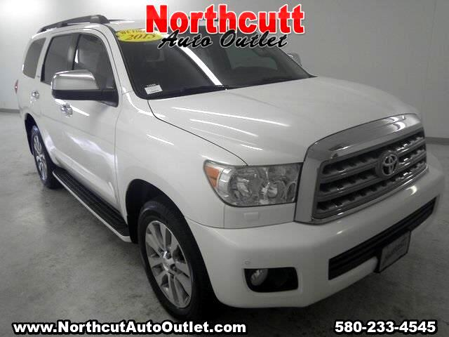 2013 Toyota Sequoia Limited 4WD FFV