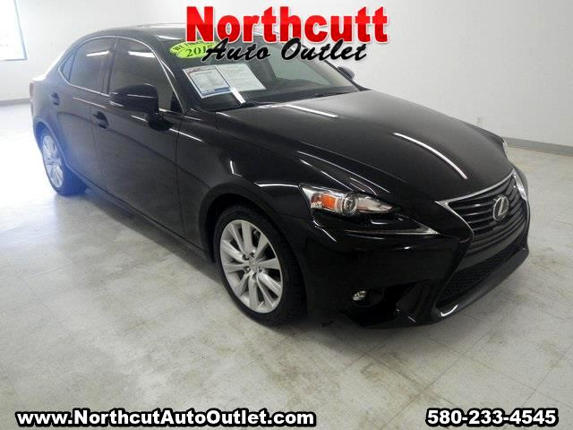 2015 Lexus IS 250 4dr Sport Sdn RWD