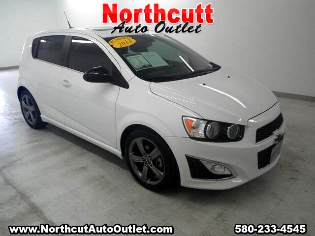 2013 Chevrolet Sonic 5dr HB Manual RS