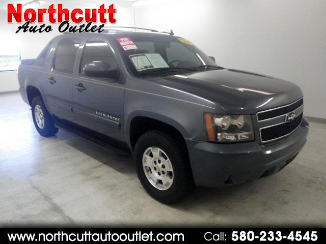 "2008 Chevrolet Avalanche 4WD Crew Cab 130"" LT w/2LT"