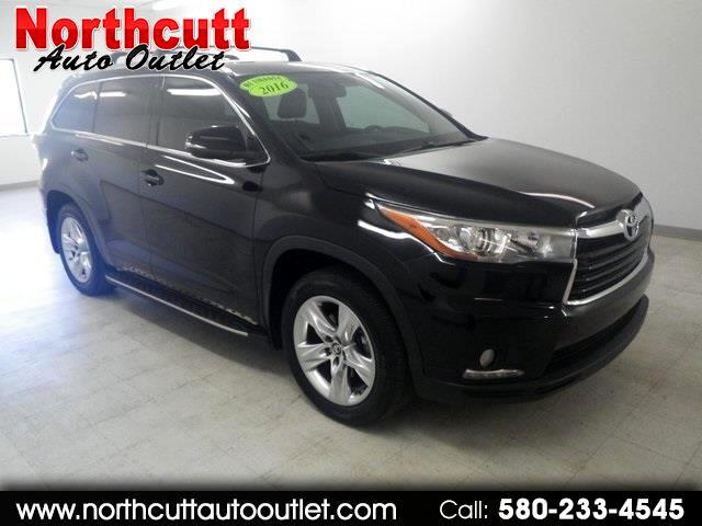 2016 Toyota Highlander FWD 4dr V6 Limited (Natl)