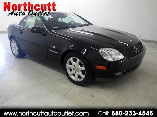 1999 Mercedes-Benz SLK-Class 2dr Kompressor Roadster 2.3L