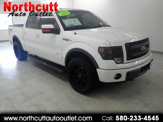 "2013 Ford F-150 4WD SuperCrew 145"" XL"