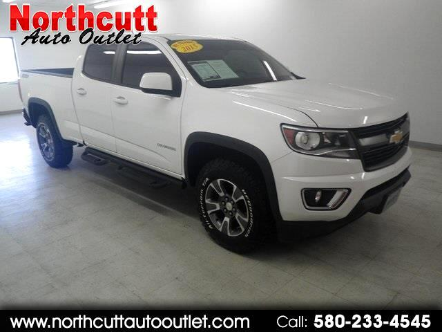 "2015 Chevrolet Colorado 4WD Crew Cab 140.5"" Z71"