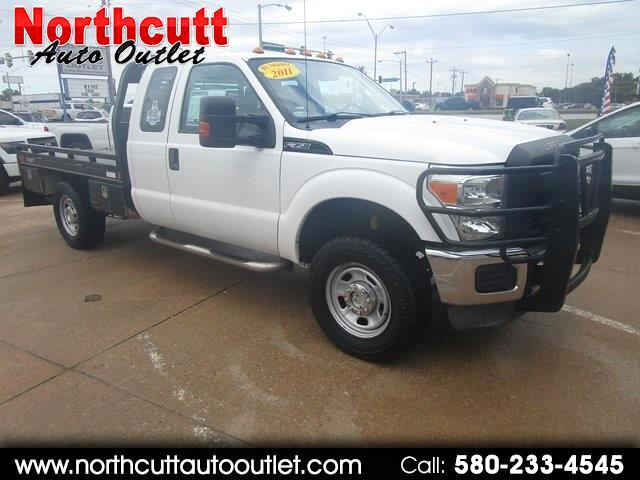 "2011 Ford Super Duty F-350 SRW 4WD SuperCab 162"" WB 60"" CA XL"