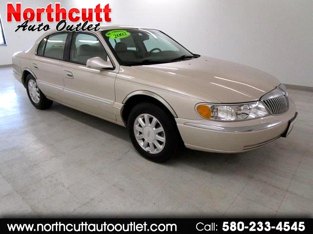 2002 Lincoln Continental 4dr Sdn Base