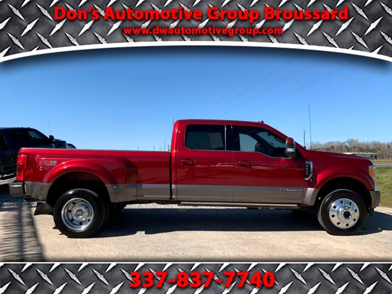 Ford F-450 SD King Ranch Crew Cab DRW 4WD 2019