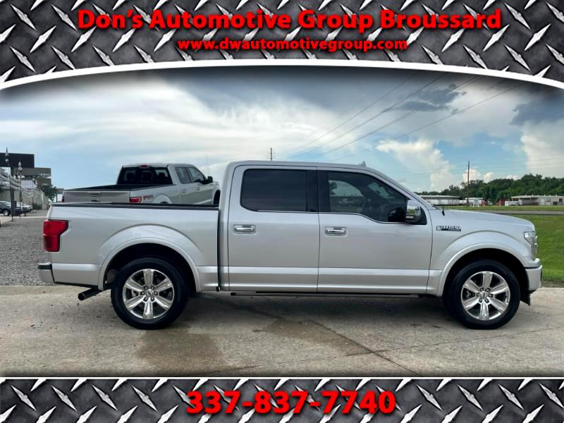 Ford F-150 Platinum SuperCrew 5.5-ft. Bed 2WD 2019