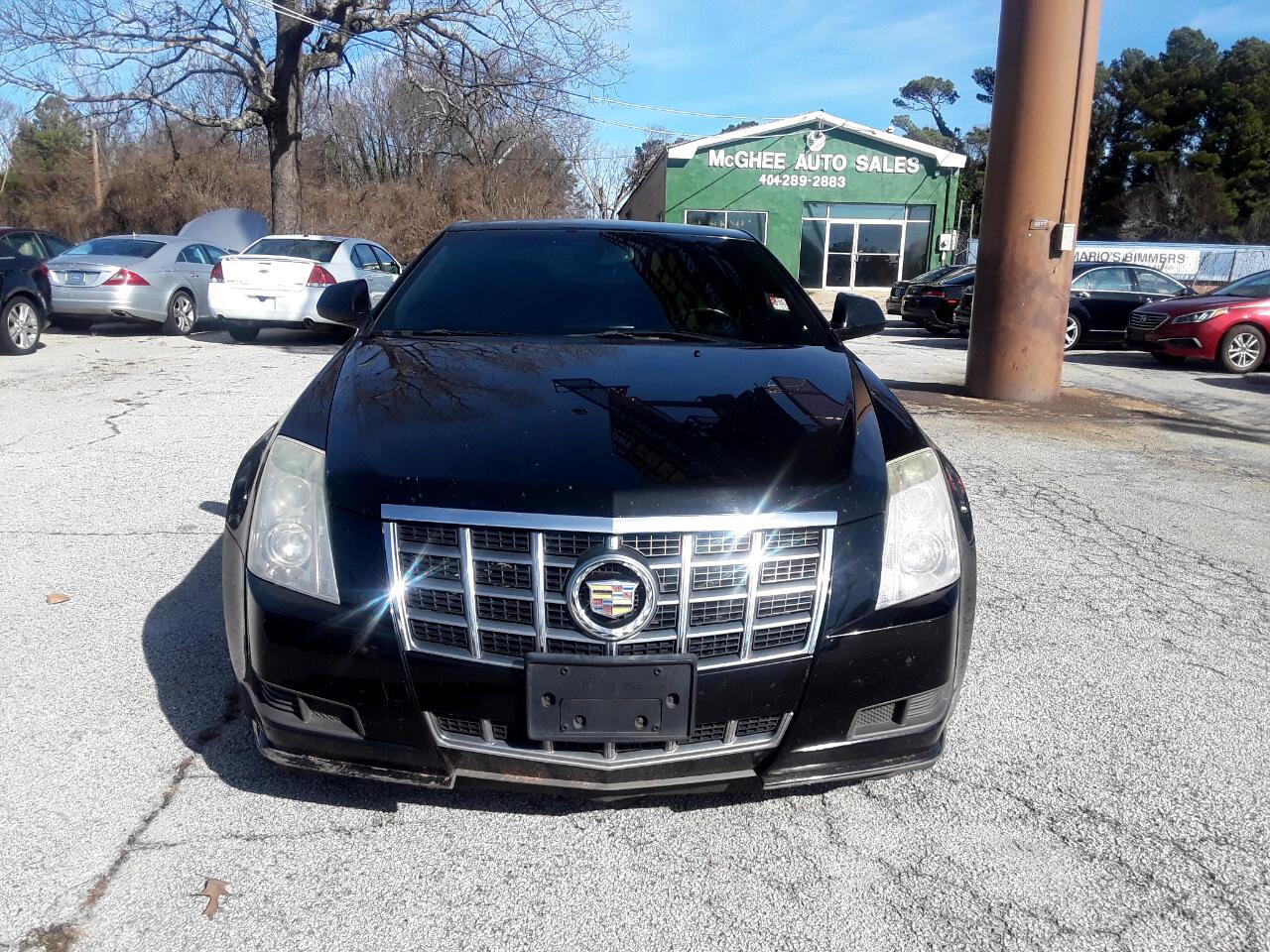 2012 Cadillac CTS Base Coupe AWD