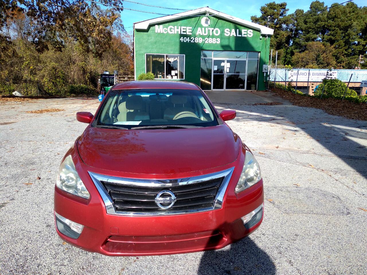 Nissan Altima 2.5 S Sedan 2014