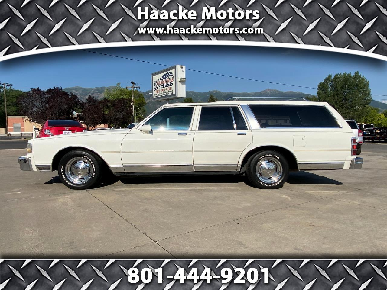 Chevrolet Caprice Wagon 4dr Wagon Classic 1988
