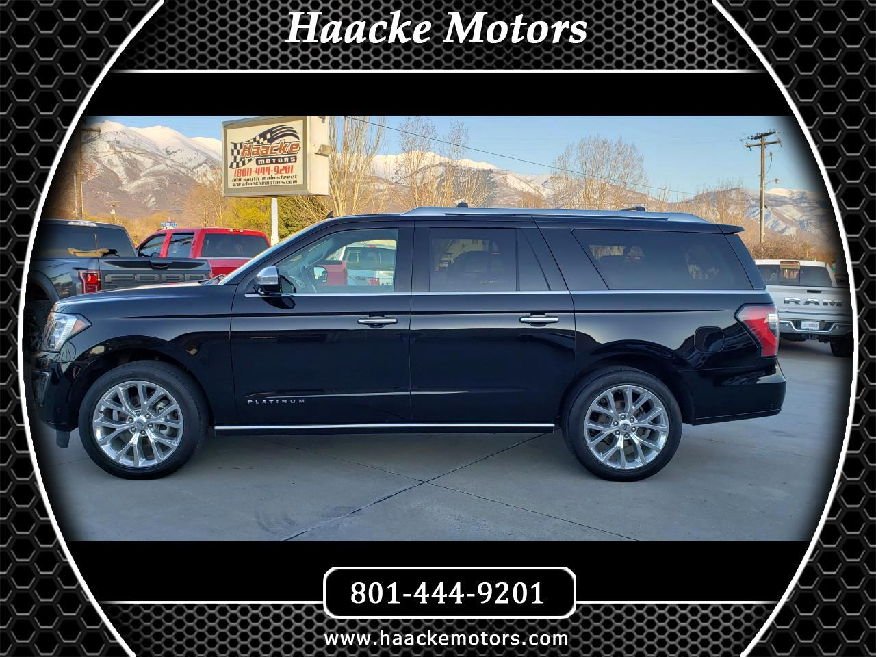 2018 Ford Expedition Max MAX Platinum 4WD