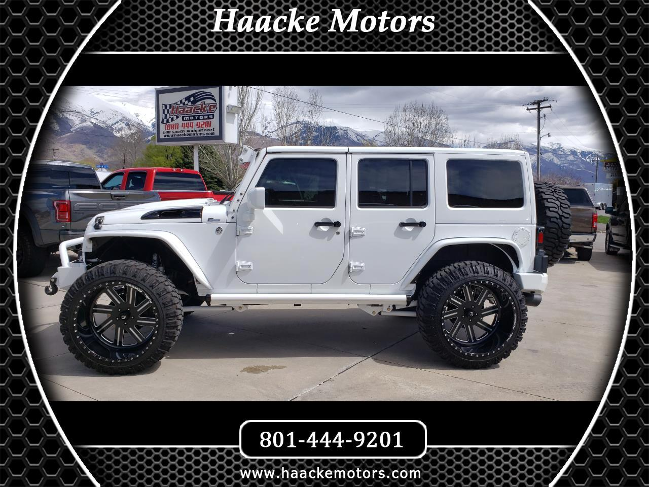 2015 Jeep Wrangler Unlimited 4WD 4dr Unlimited Rubicon