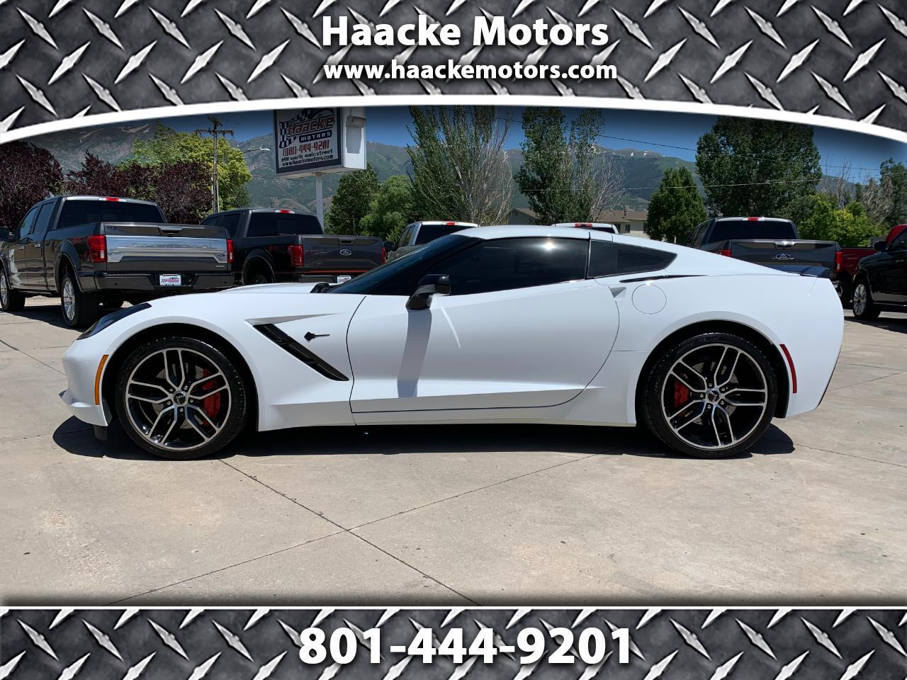 2015 Chevrolet Corvette 2dr Stingray Z51 Cpe w/3LT