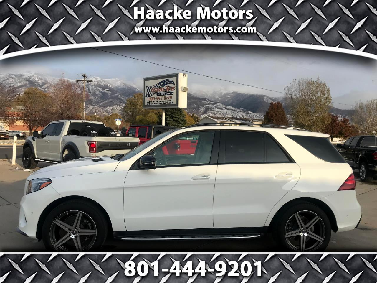 Mercedes-Benz GLE 4MATIC 4dr GLE 400 2016