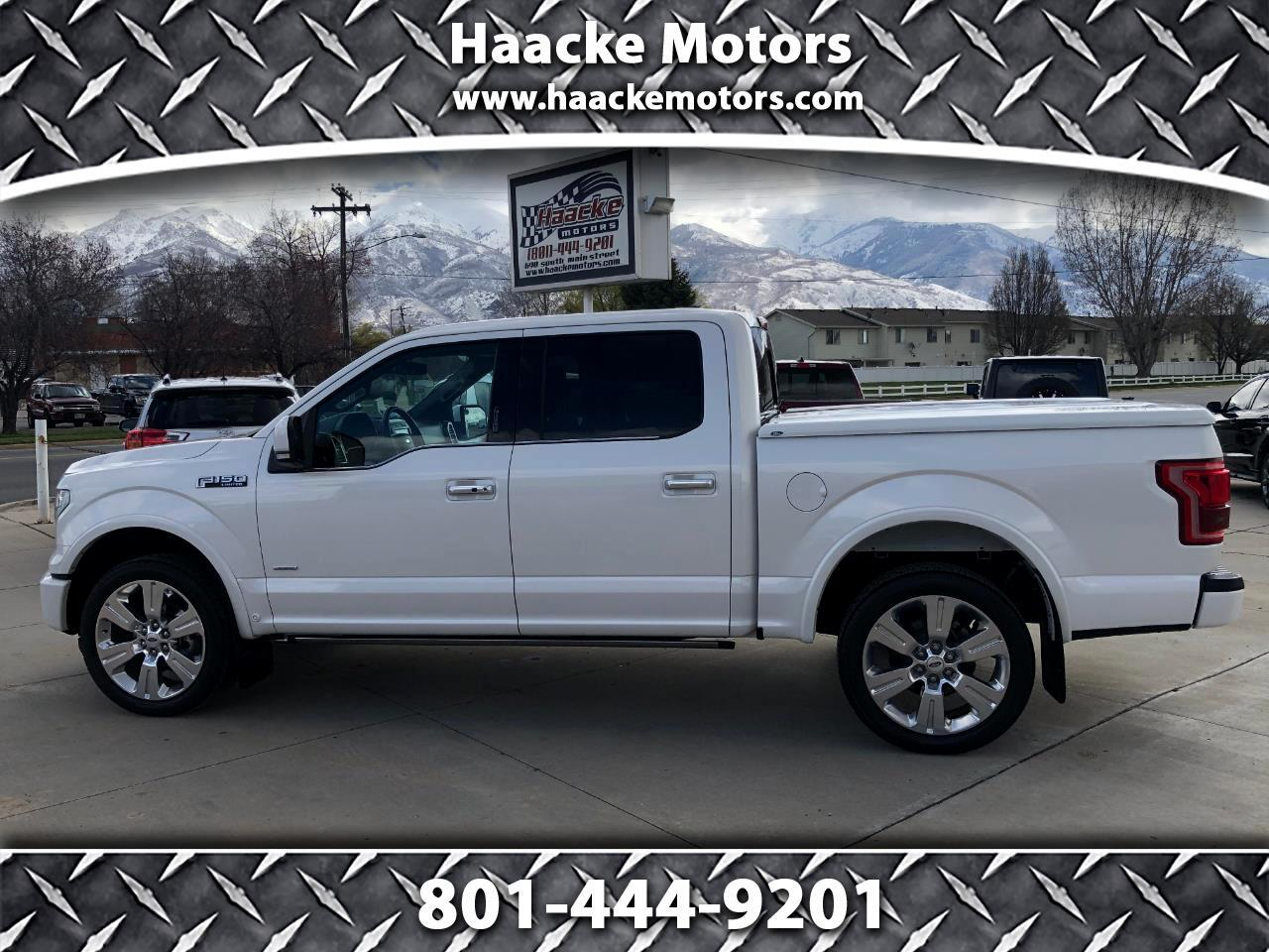 """Ford F-150 4WD SuperCrew 145"""" Limited 2016"""