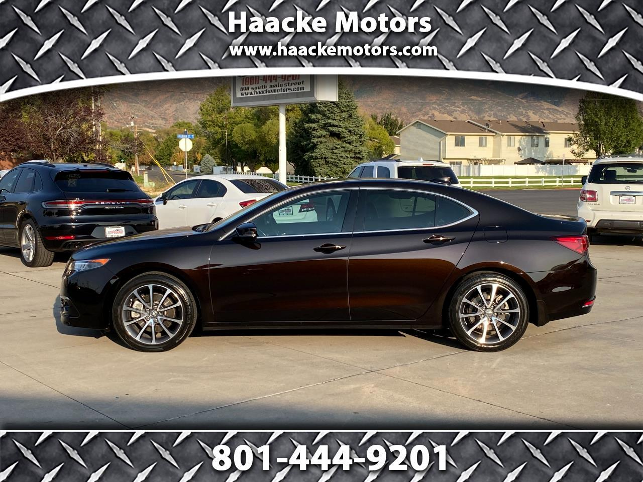Acura TLX 4dr Sdn FWD V6 Advance 2016