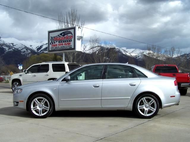 Audi A4 2.0 T quattro with Tiptronic 2007