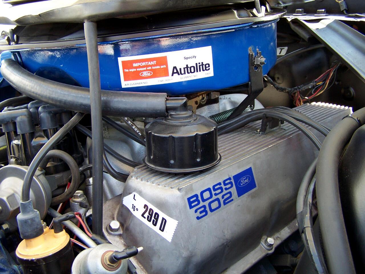 1970 Mustang Boss 302 Fuel Pump