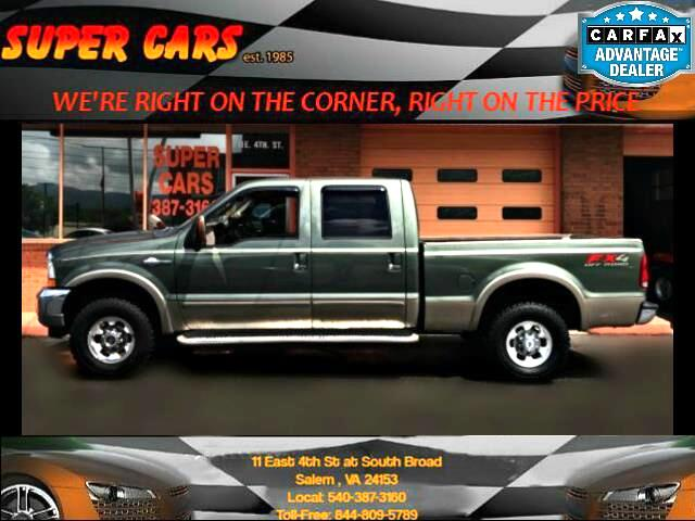 2003 Ford F-250 SD Lariat King Ranch Crew Cab 4WD