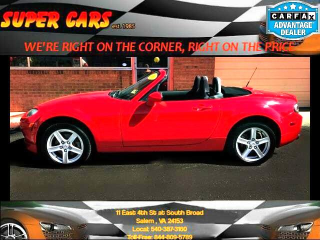 2006 Mazda MX-5 Miata 2dr Conv Touring Pkg Manual
