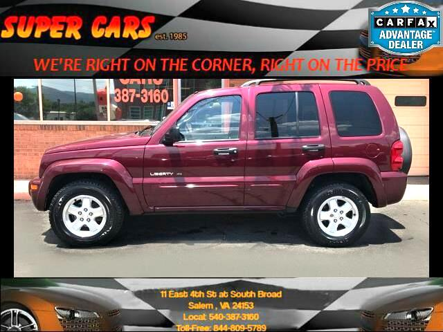 2003 Jeep Liberty Limited 4WD