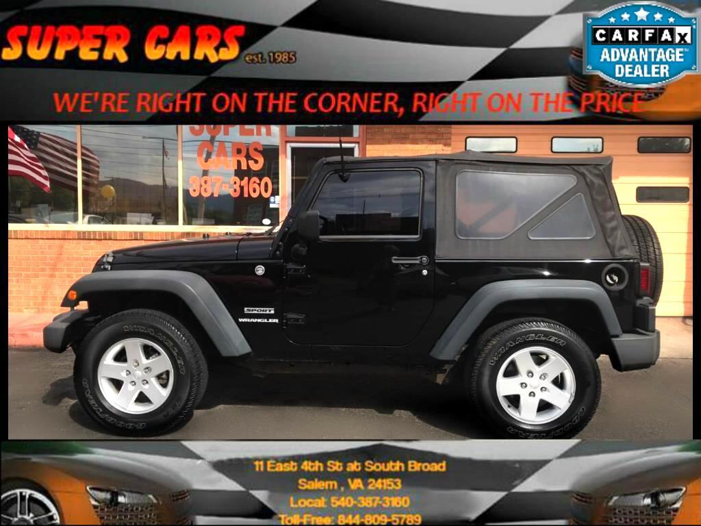 2010 Jeep Wrangler Sport 4WD