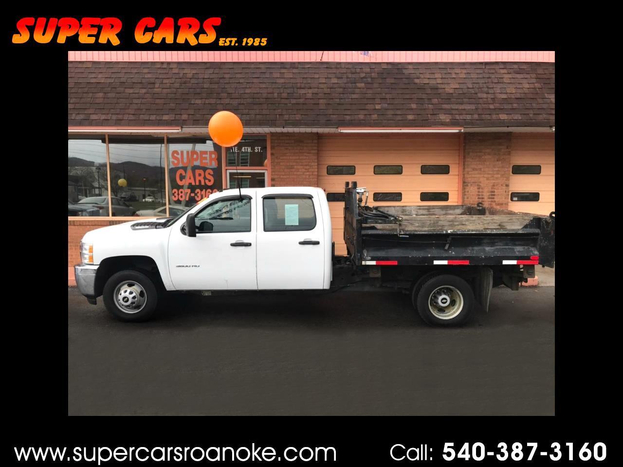 2013 Chevrolet Silverado 3500HD Dump Truck Crew Cab 2WD