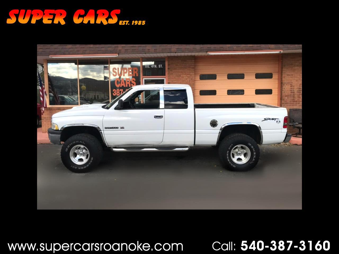 2000 Dodge Ram 1500 Club Cab Short Bed 4WD