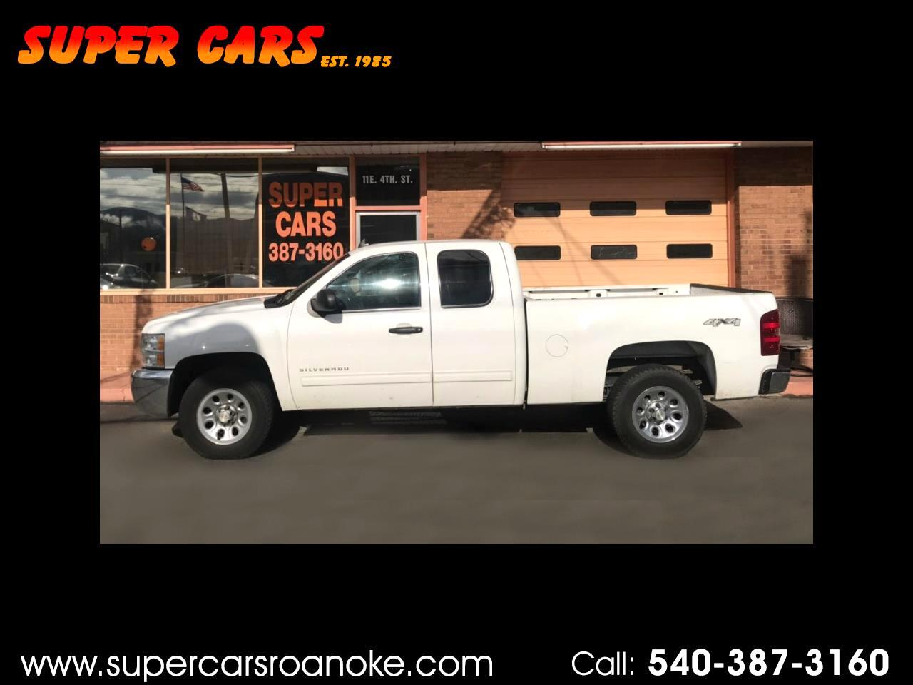 2012 Chevrolet Silverado 1500 Ext. Cab Short Bed 4WD