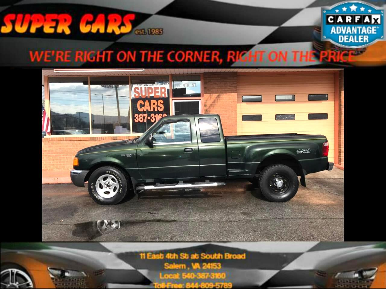 2001 Ford Ranger XL Supercab Fleet 4WD