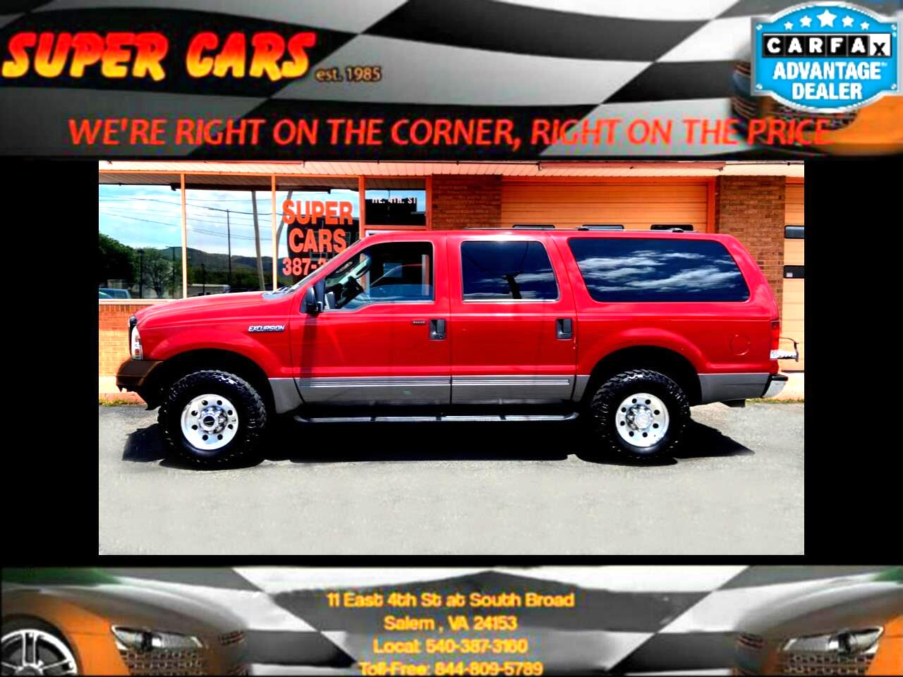 Ford Excursion XLT 6.8L 4WD 2005