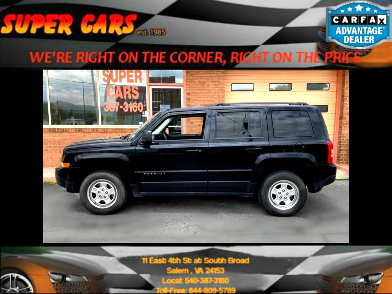 Jeep Patriot Sport 4WD 2016