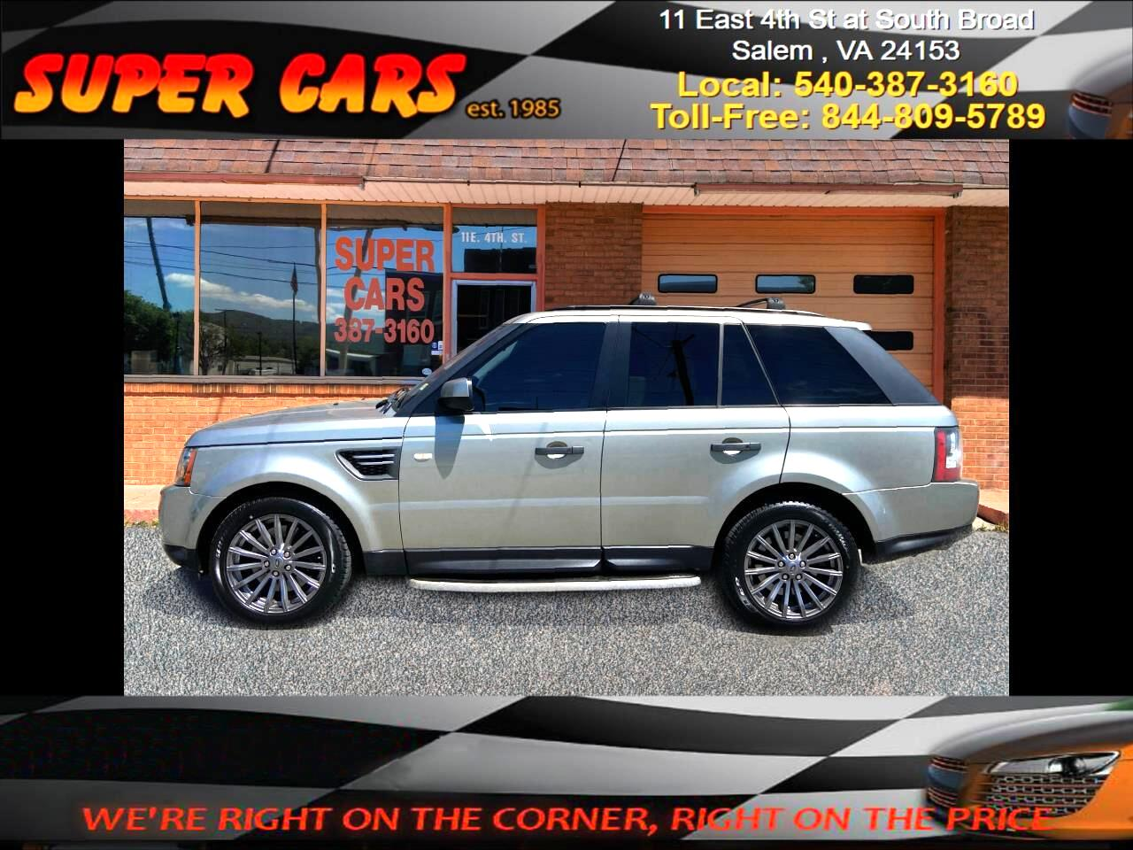 Land Rover Range Rover Sport HSE 2010