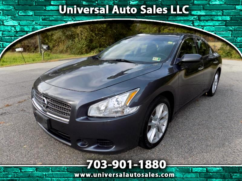 buy here pay here 2011 nissan maxima sv for sale in spotsylvania va 22551 universal auto sales. Black Bedroom Furniture Sets. Home Design Ideas